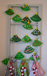 Paper Plate Christmas Tree I Love Finding Easy Crafts For Kids